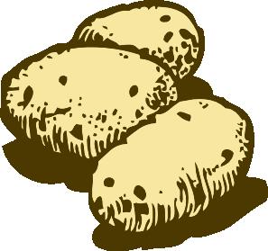 Potato clipart border. Clip art panda free