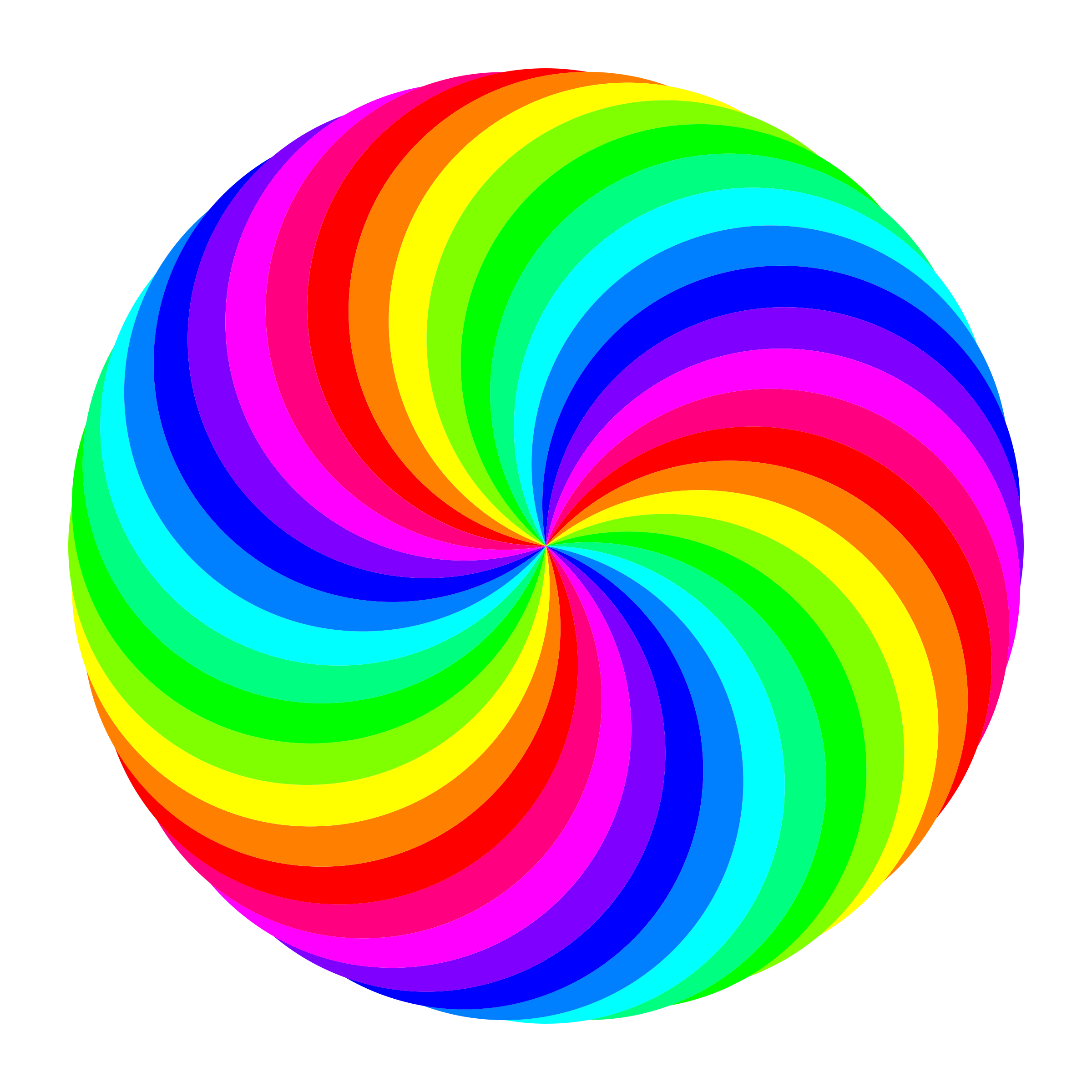circle swirl by. Potato clipart color