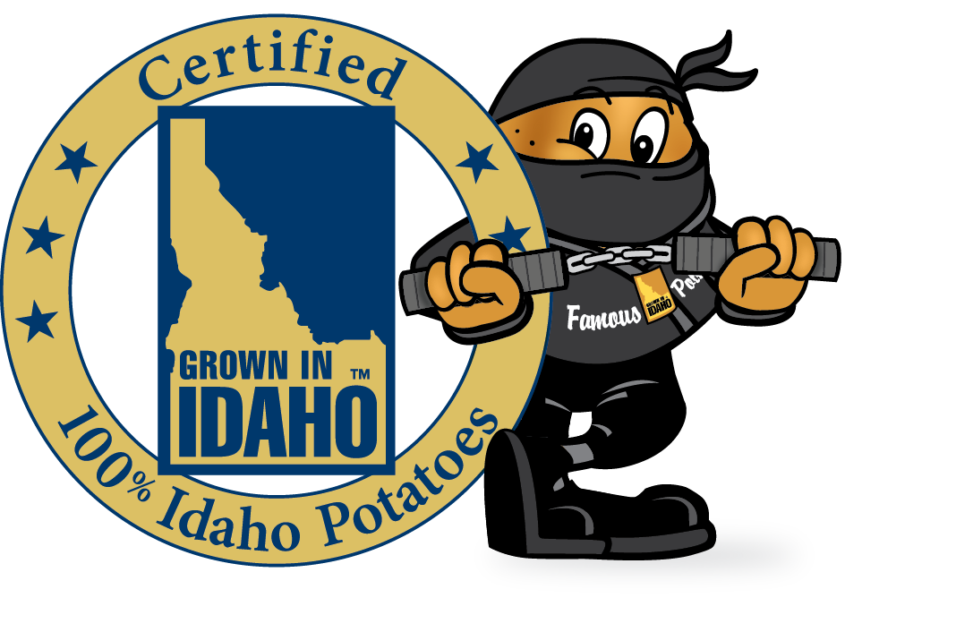 Idaho commission. Potato clipart cutie