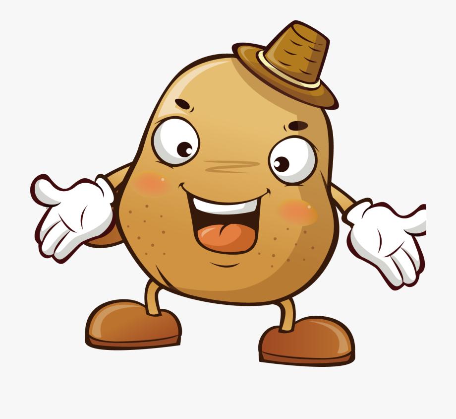 Potato clipart free cartoon. Baked sweet vegetable clip