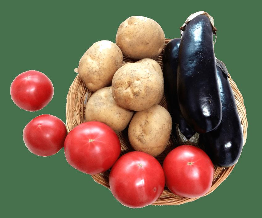 Tomatoes clipart potato. Eggplant tomato png free
