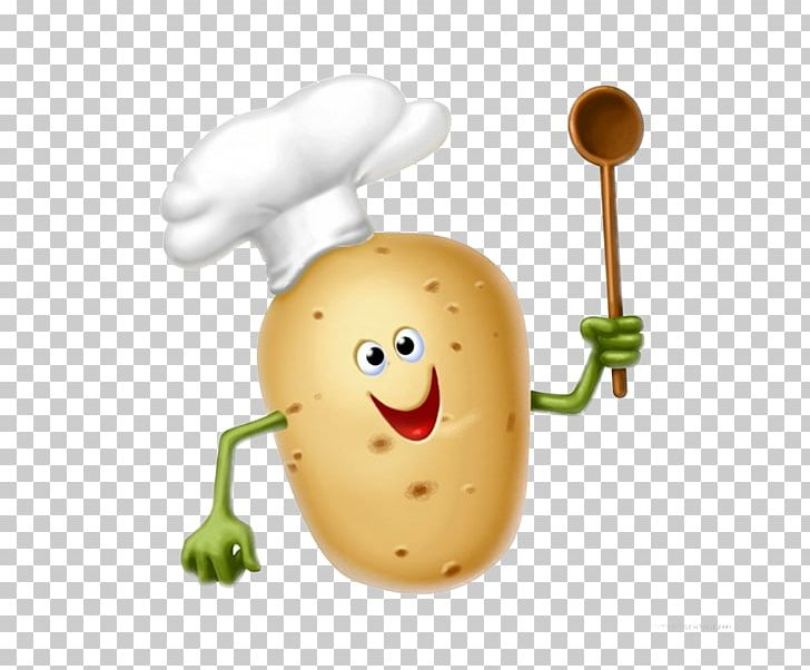 French fries baked fried. Potato clipart hat