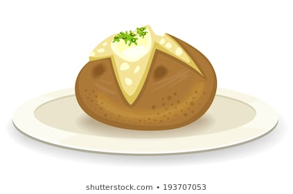 Portal . Potato clipart jacket potato