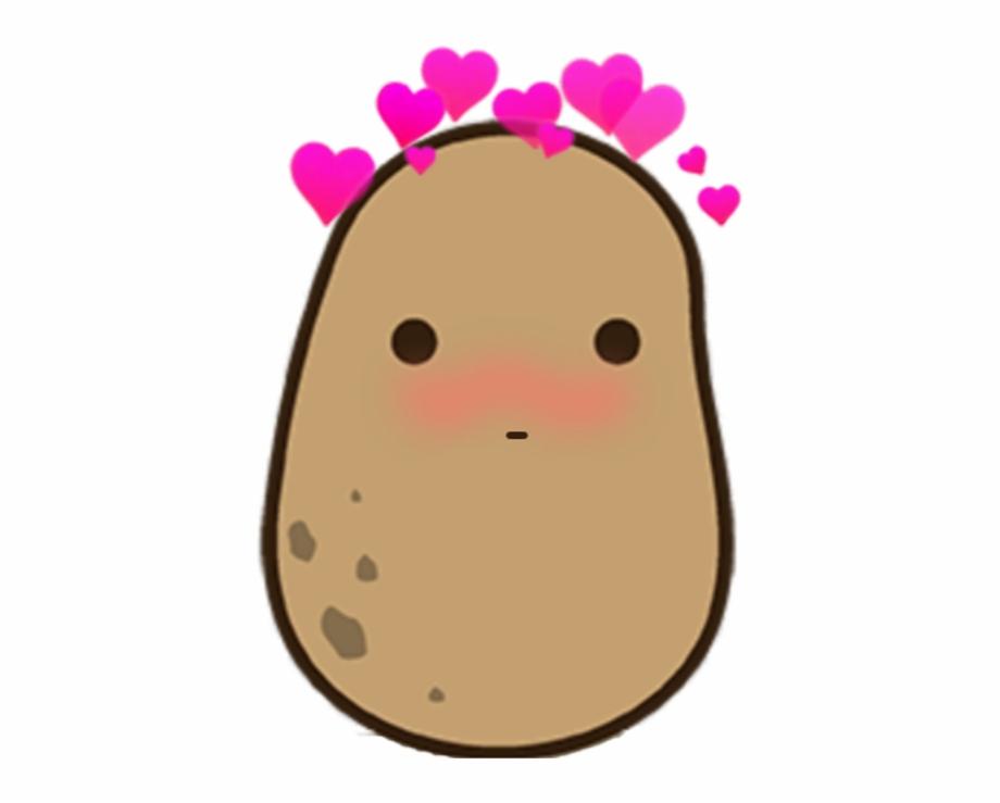 potato clipart kawaii