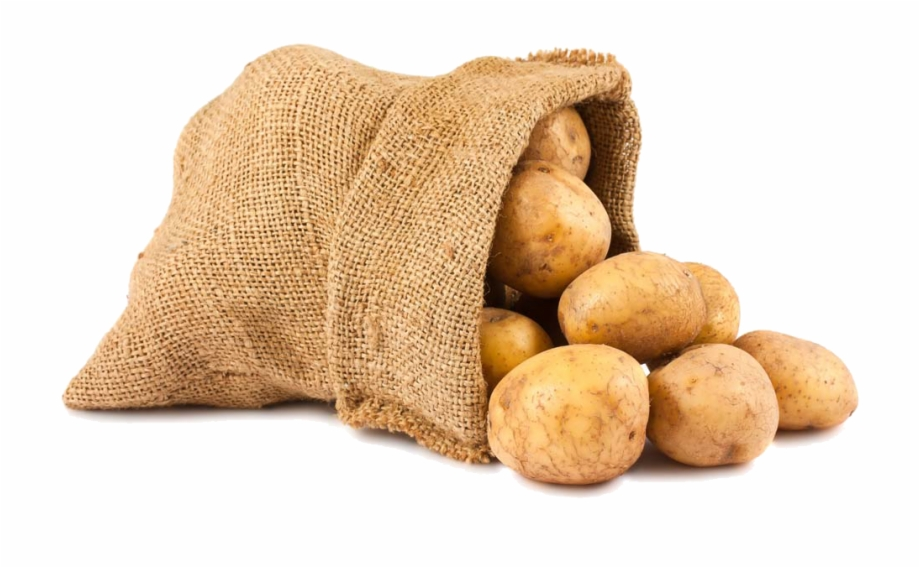 Potato clipart sack potato. Sacks of potatoes transparent