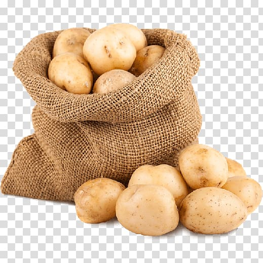 Baked gunny bag transparent. Potato clipart sack potato