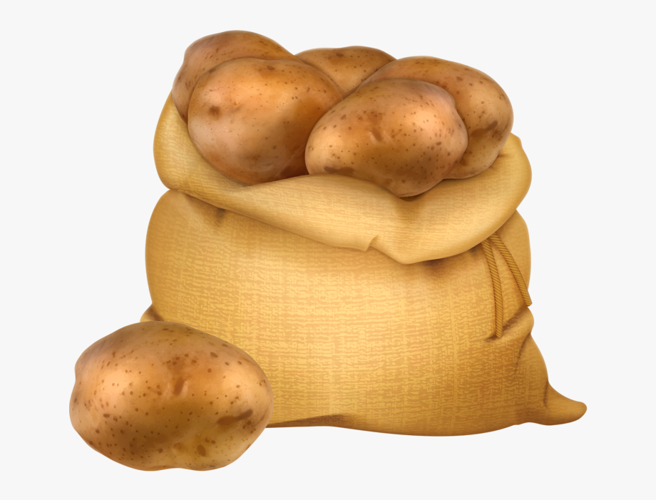 Potato clipart sack potato. Farm of potatoes