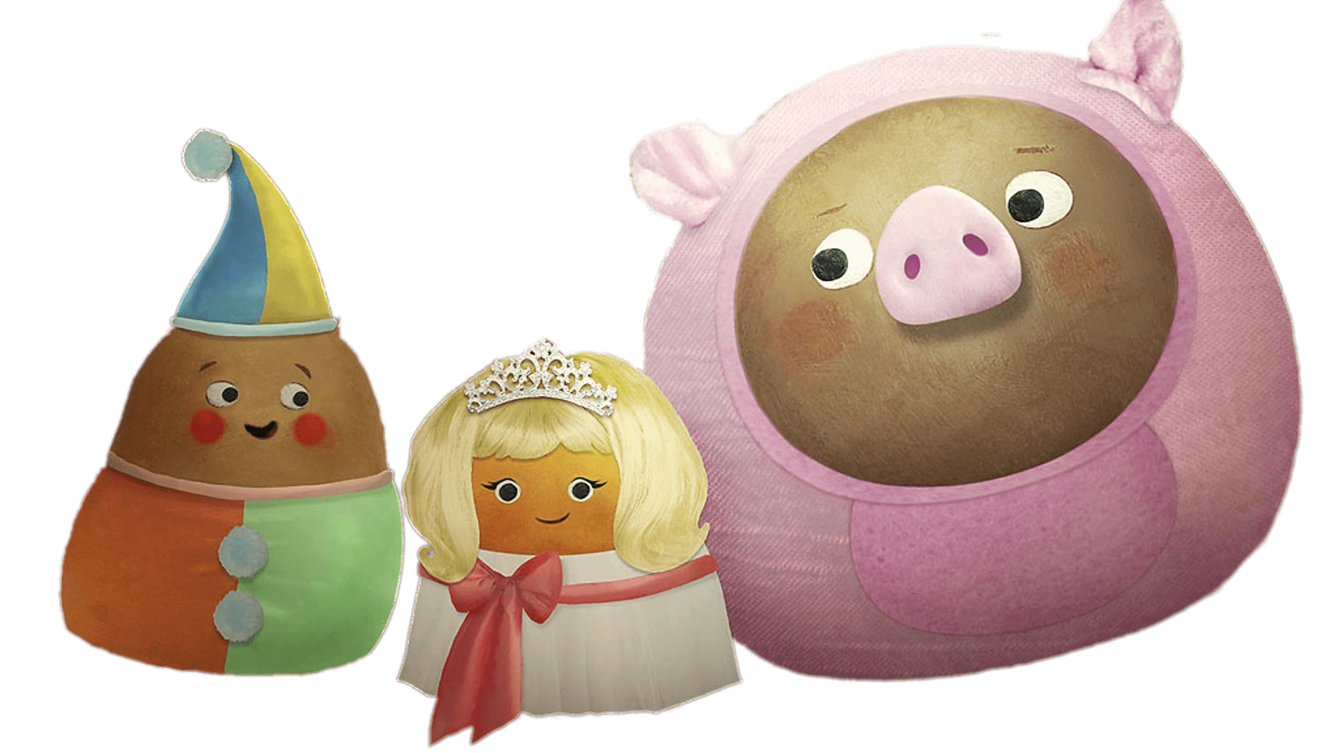 Small potatoes carnival transparent. Potato clipart smile