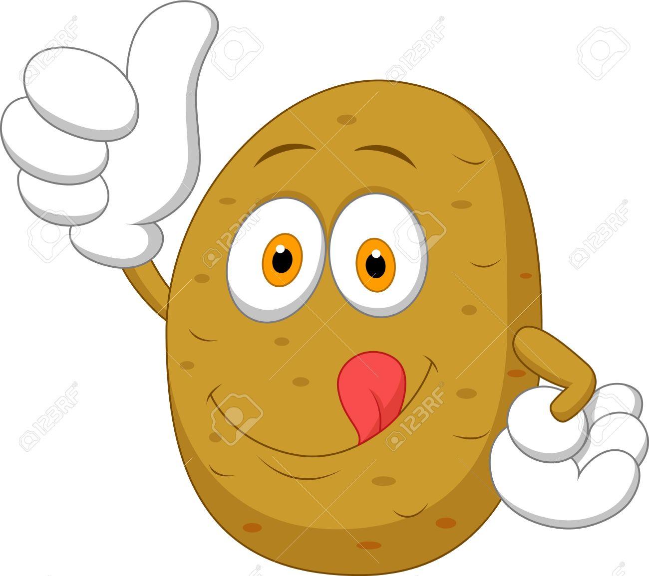 Potato clipart smile. Smiley x free clip