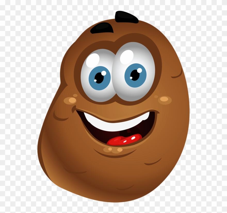 Potato clipart smile. Png clip art food