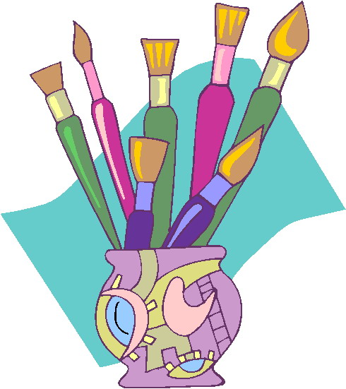 Painting . Pottery clipart