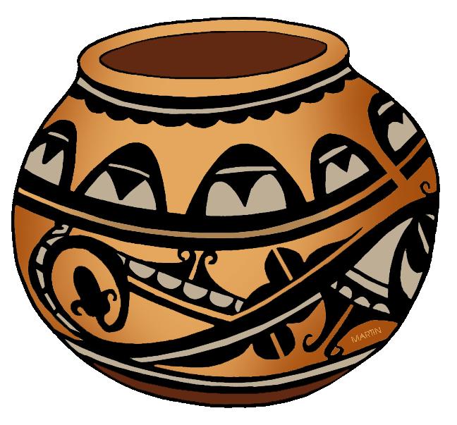 Pottery clipart. Native americans clip art