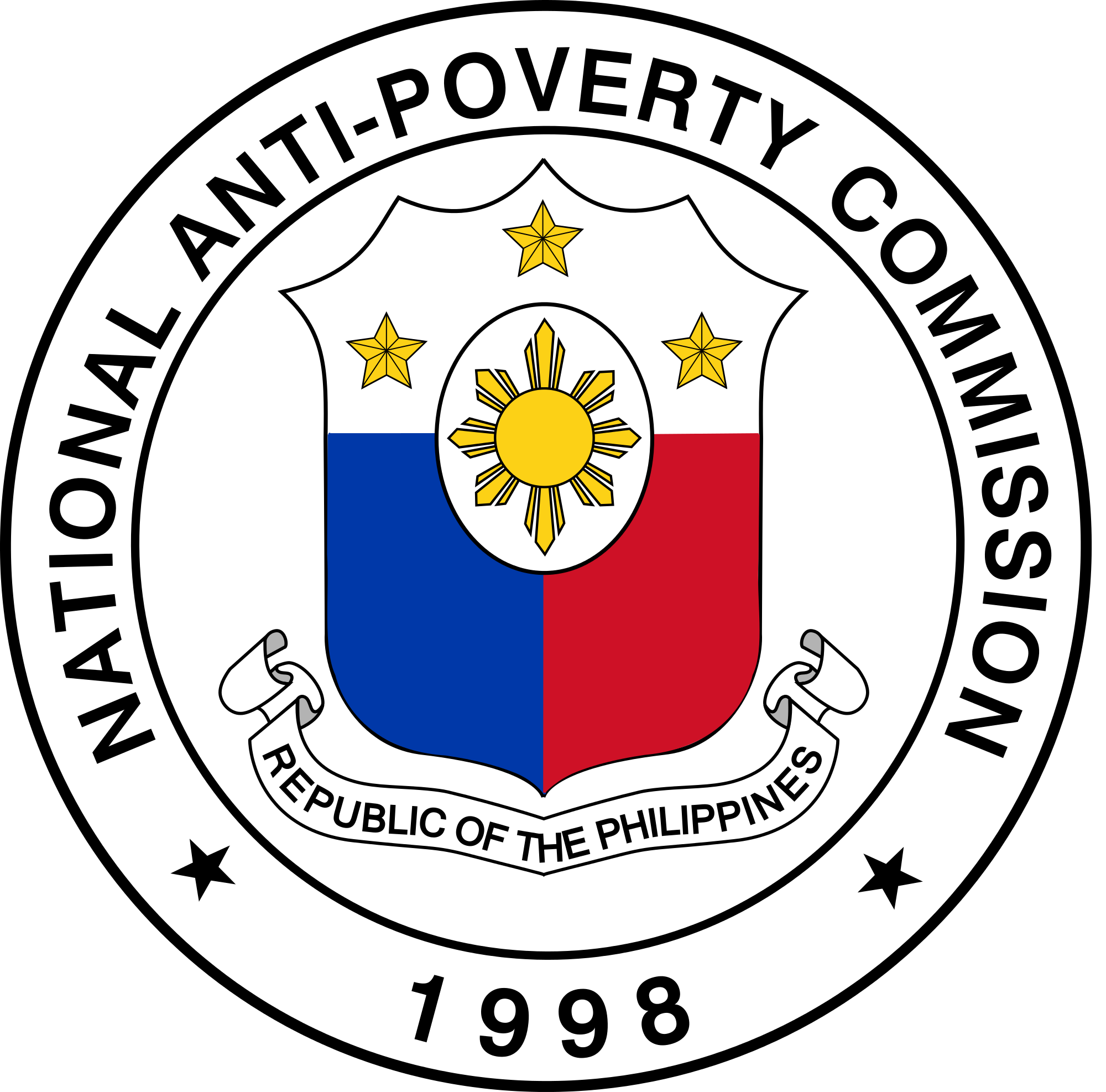 Poverty clipart clipart the philippines. Senior citizen official logo
