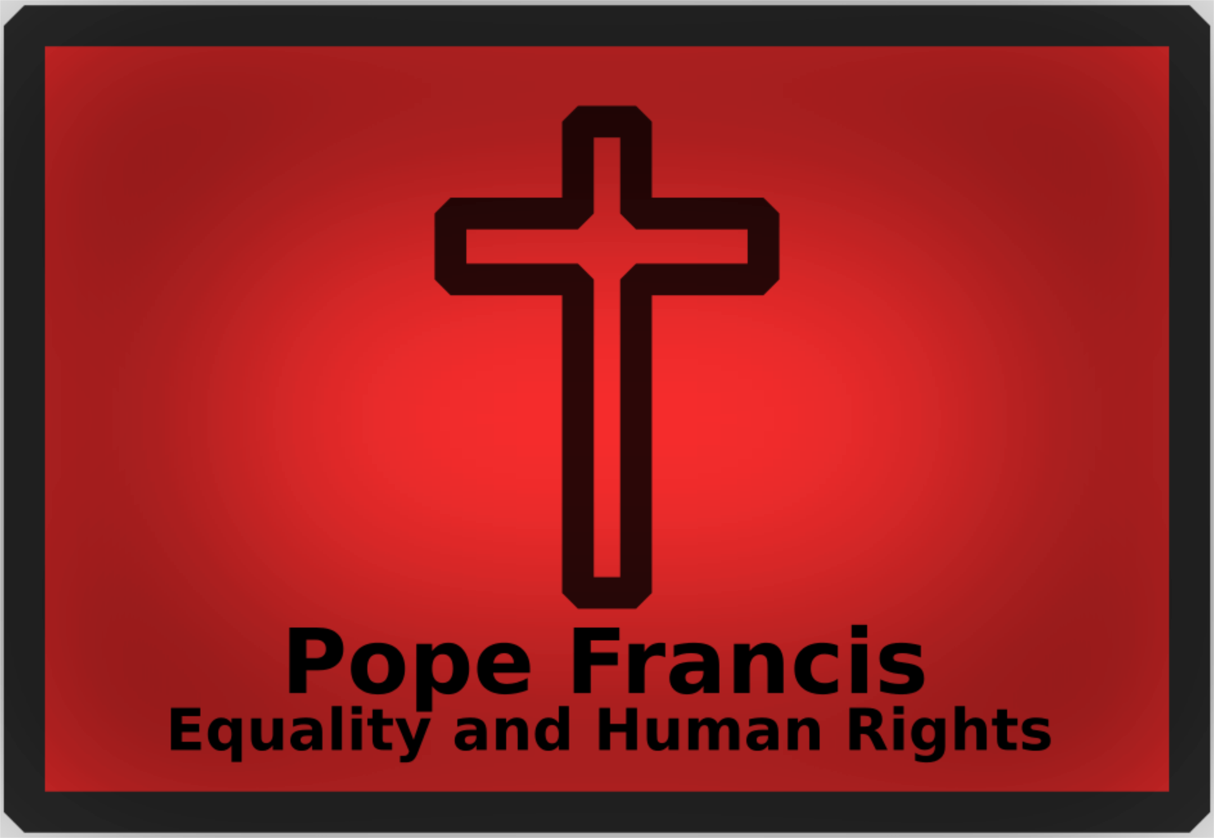 Poverty clipart human right. Pope francis big image