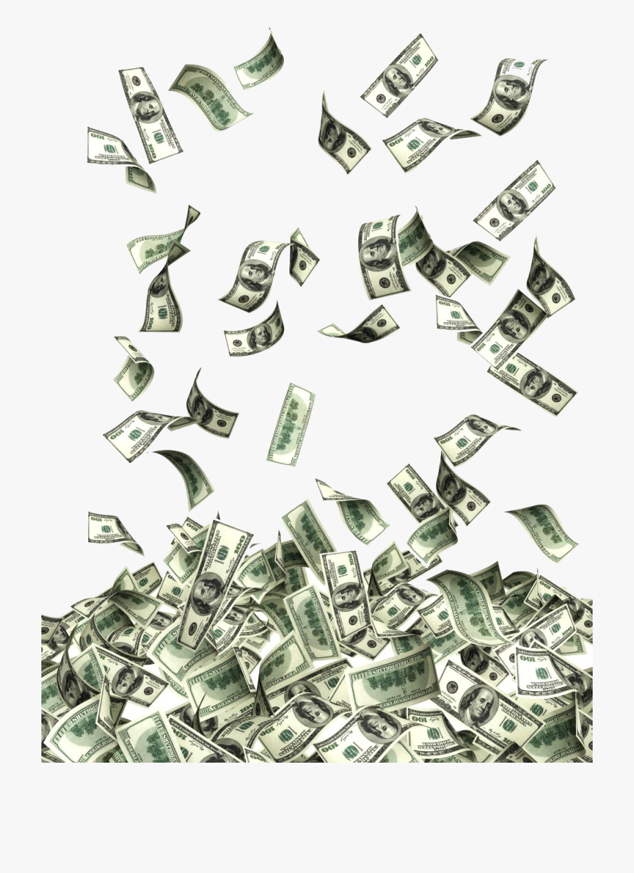 Png flying dollars free. Poverty clipart money fine