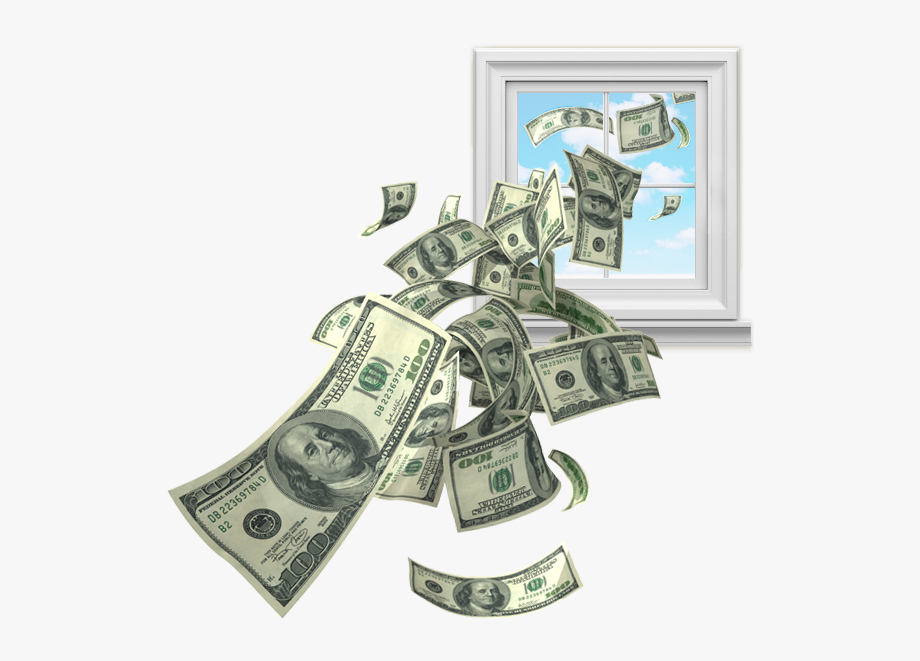 Poverty clipart money fine. Throw out the window