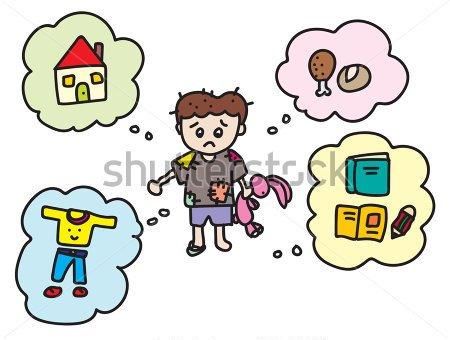 Poverty clipart orphan girl. Little nanay