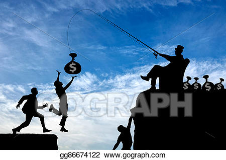 Stock illustration inequality rich. Poverty clipart social injustice