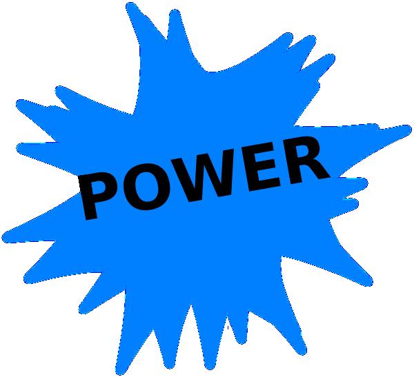 Power at clker com. Electricity clipart clip art
