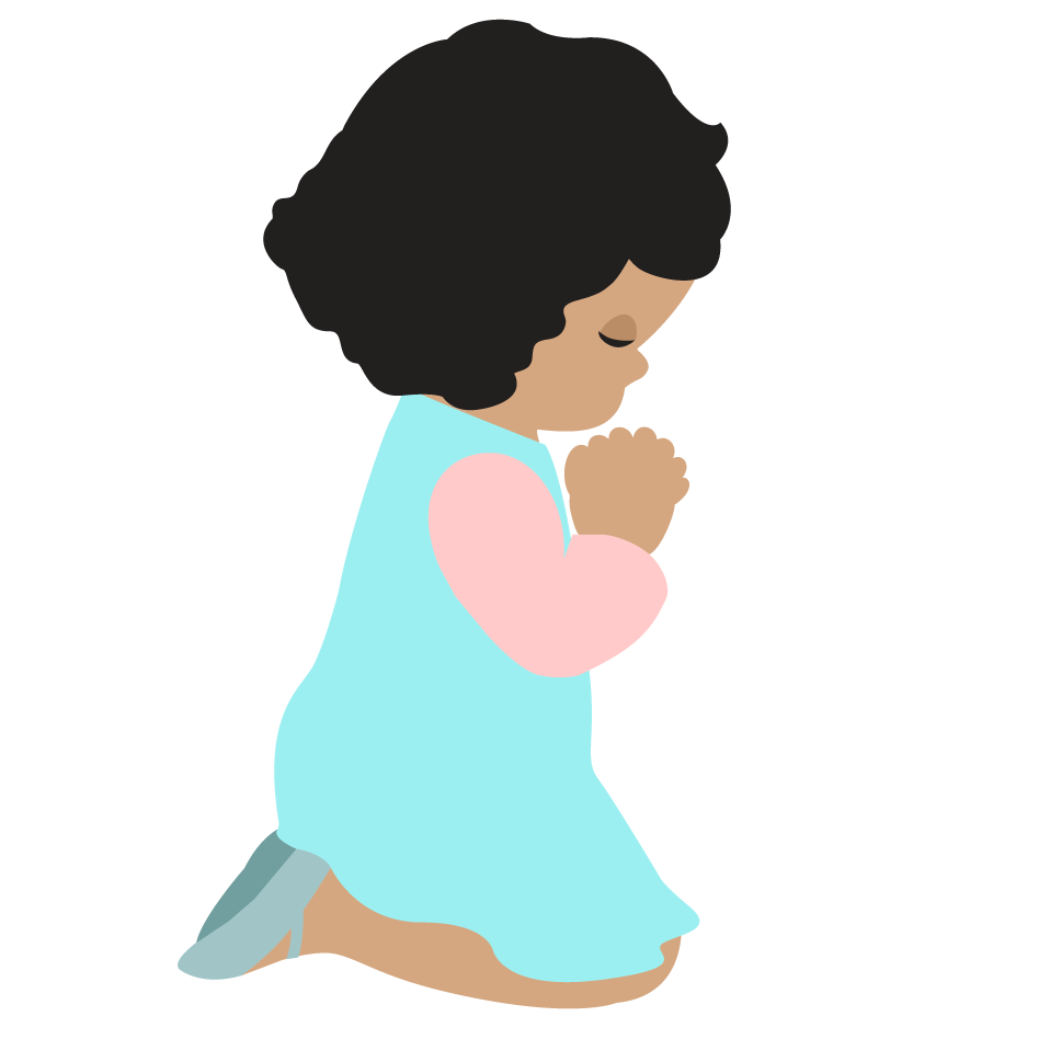 Images for child praying. Singer clipart toddler