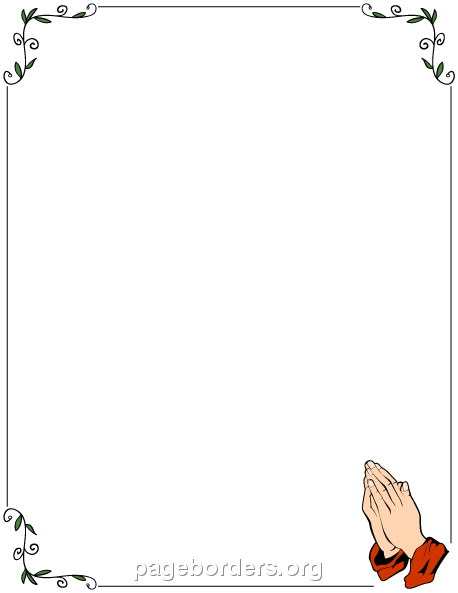 Pray clipart border. Pin by muse printables