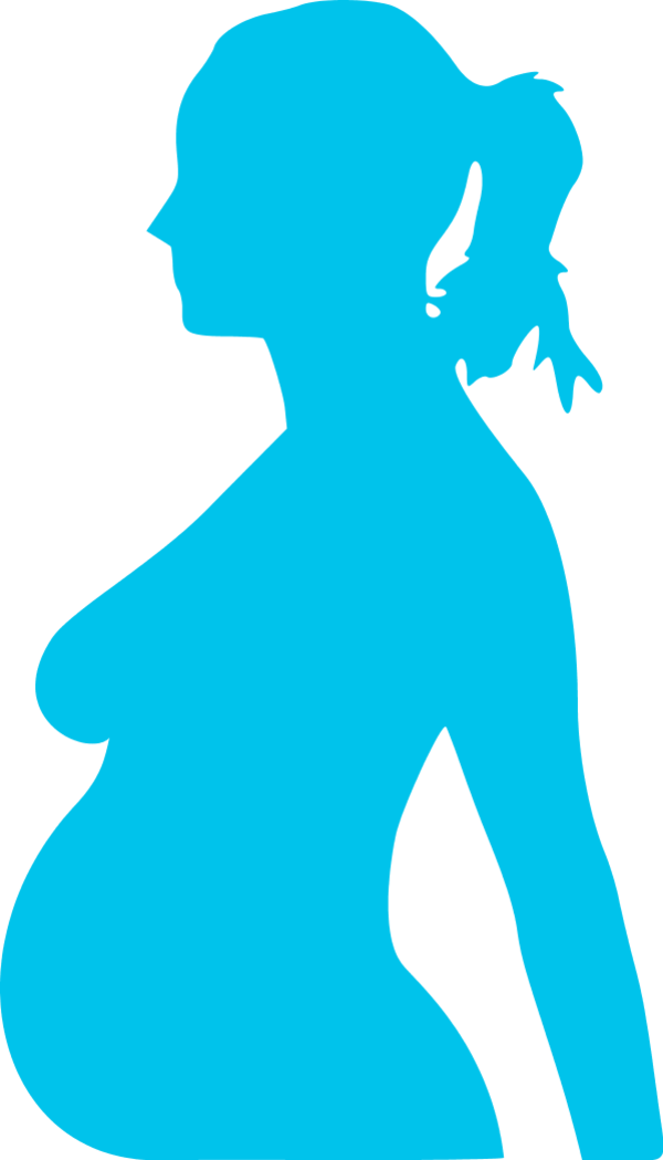 Stomach clipart pregnant stomach. Belly silhouette at getdrawings