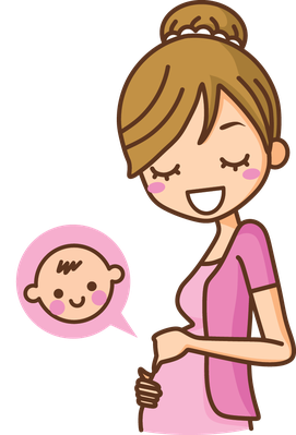 Pregnant free download best. Pregnancy clipart happy