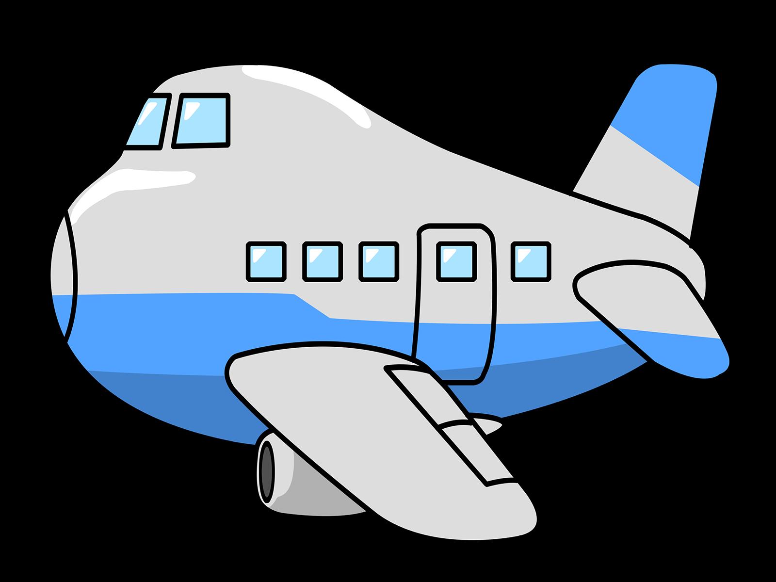 preschool clipart airplane