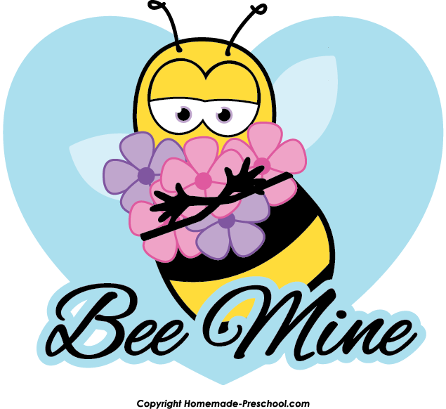 Preschool clipart bee. Free mine