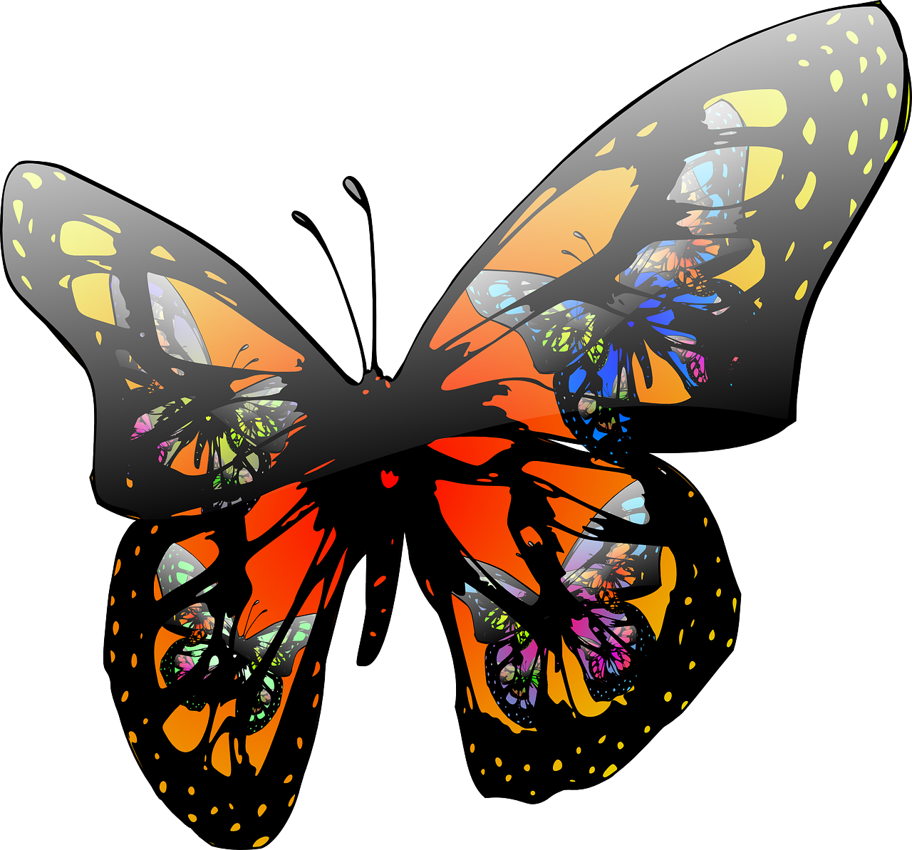 Home bright futures. Preschool clipart butterfly