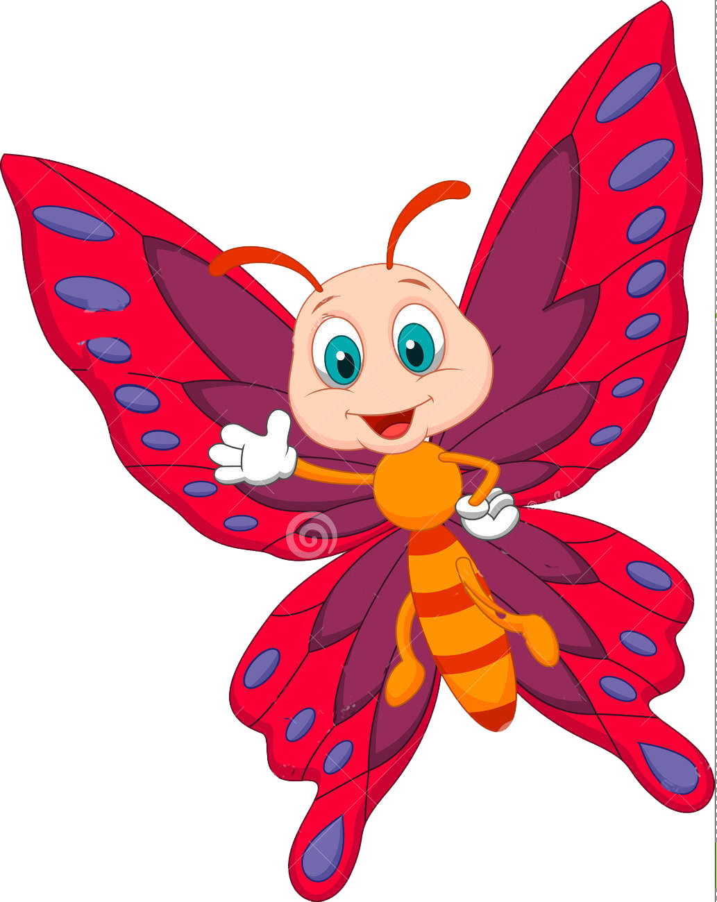 Butterflies s splash zone. Preschool clipart butterfly