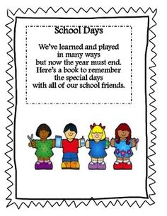 best graduation end. Preschool clipart memories