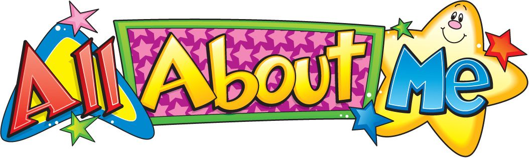 All about me homeschool. Preschool clipart portfolio
