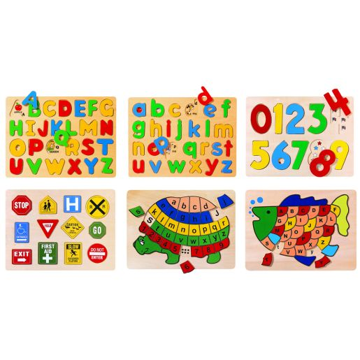 Puzzles letters numbers and. Puzzle clipart preschool