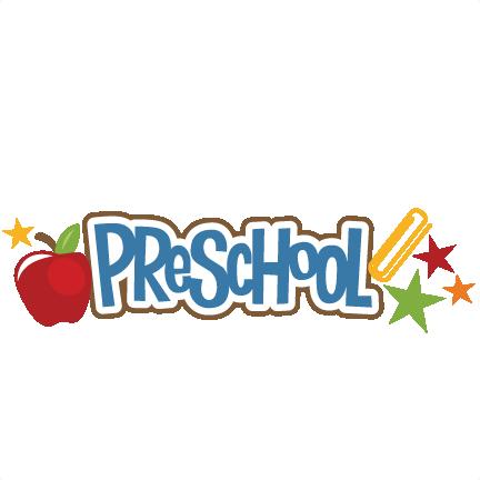Scrapbook clipart preschool. Svg title crayon file