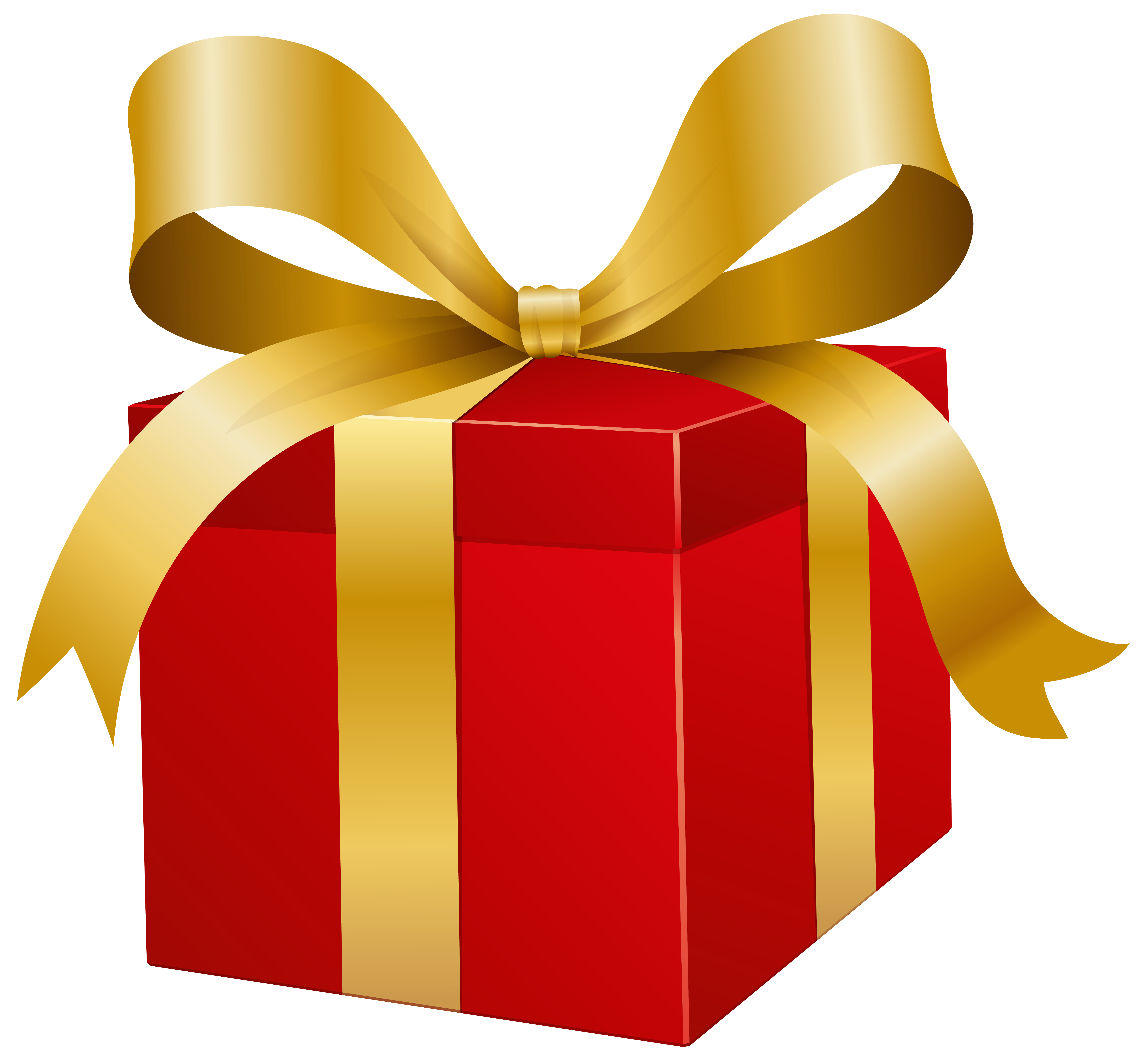 Present clipart. Red box png clip