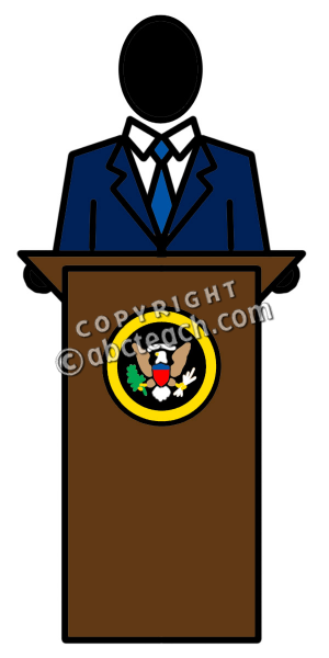 Clip art people panda. President clipart