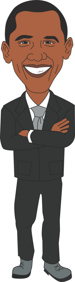 President clipart. Clip art black and