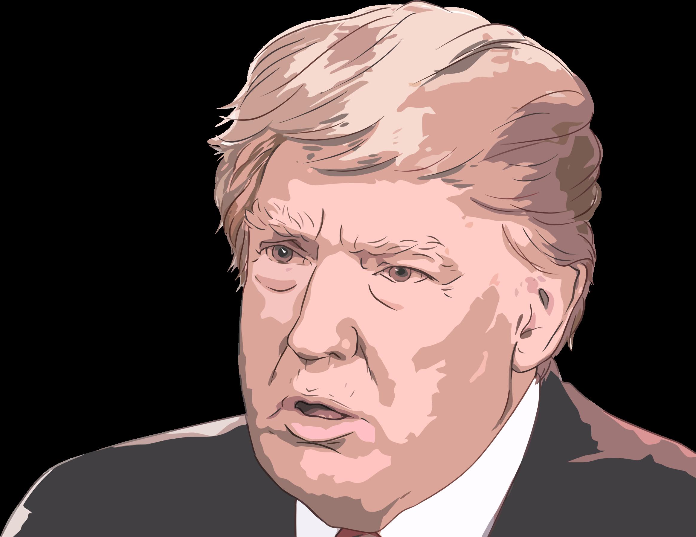 President Clipart Cartoon Donald Trump President Cartoon Donald Trump Transparent Free For Download On Webstockreview 2020