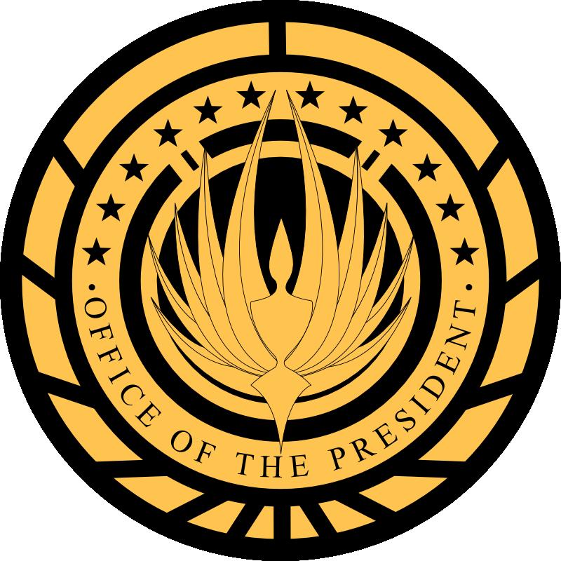 File presidential seal of. President clipart president office
