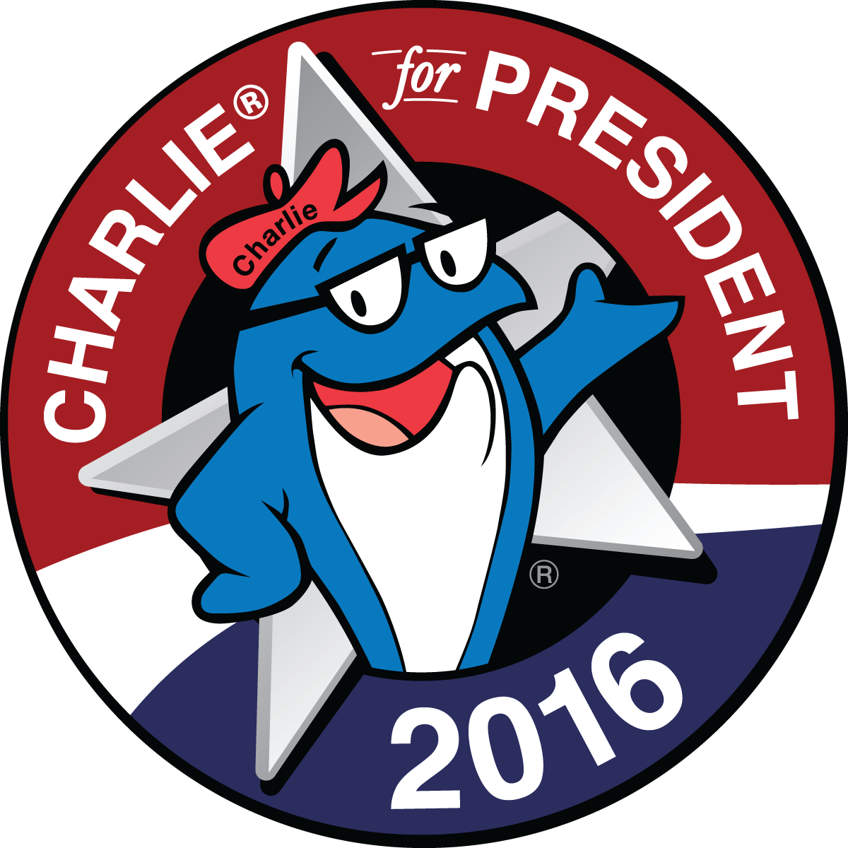 Tuna clipart charlie. Starkist for president jam