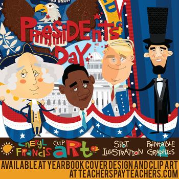 Presidents day clip art. President clipart presidential inauguration