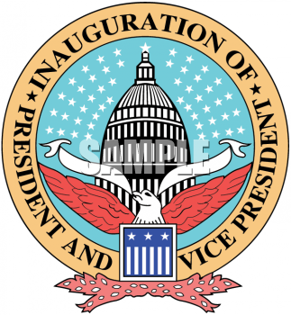 President clipart presidential inauguration. Picture of the seal