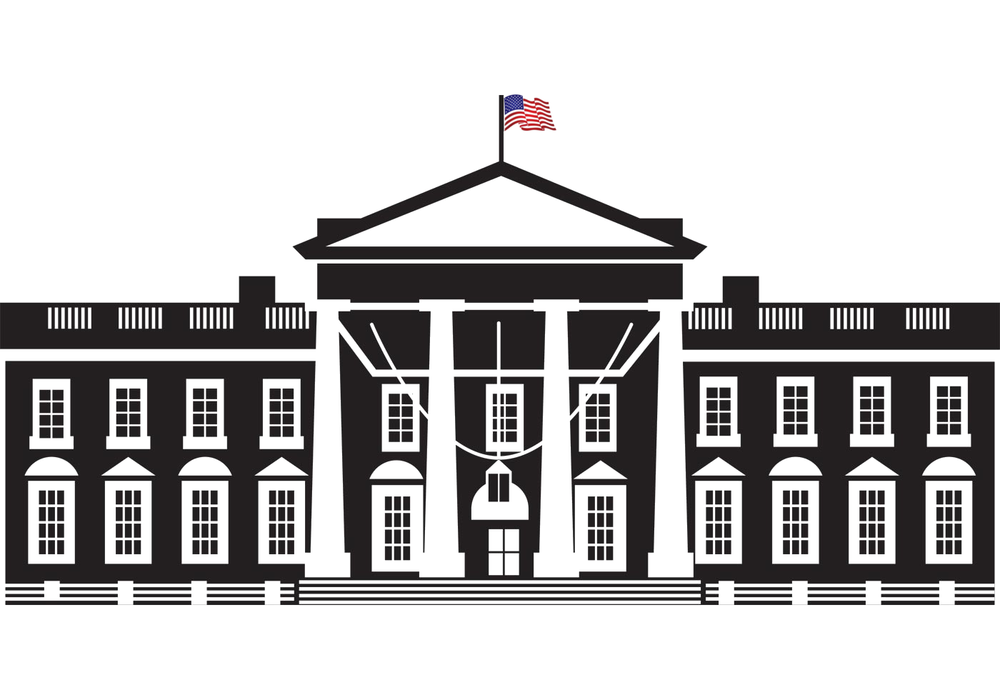 The white house png