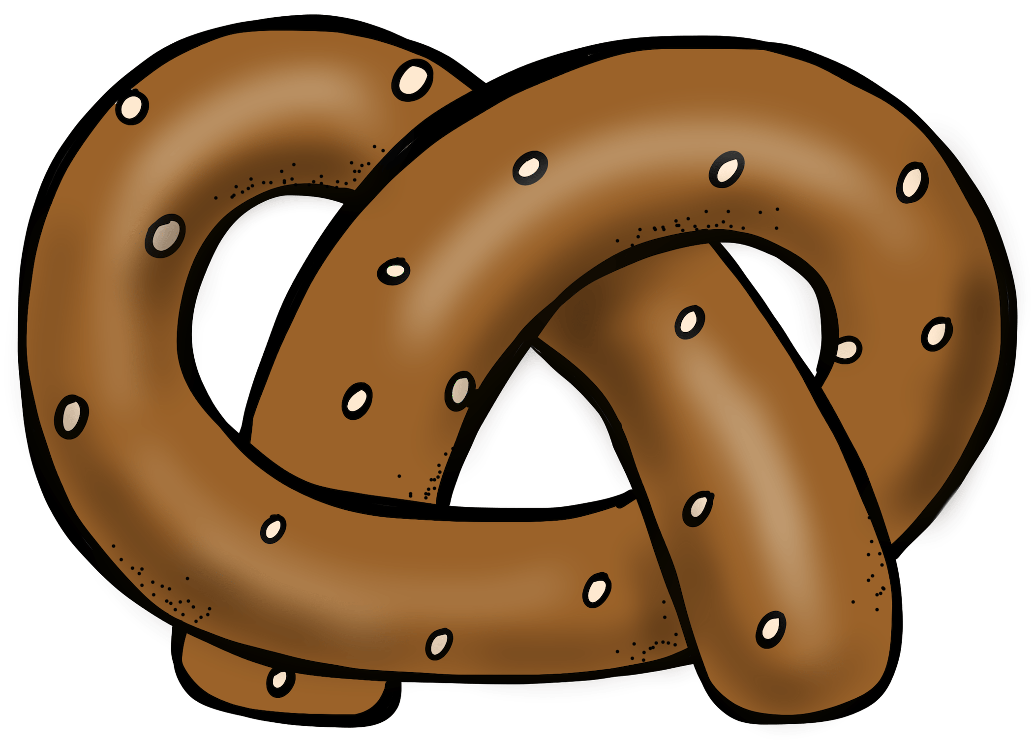 Welcome to educlips store. Pretzel clipart