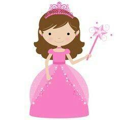 Princess clipart. Free clip art of