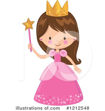 Princess clipart illustration. By peachidesigns