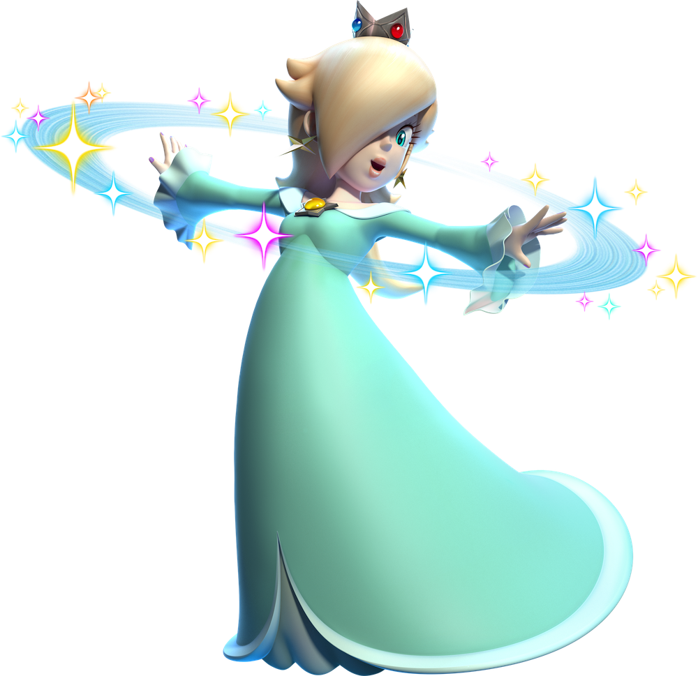 Super mario d world. Princess clipart rosalina