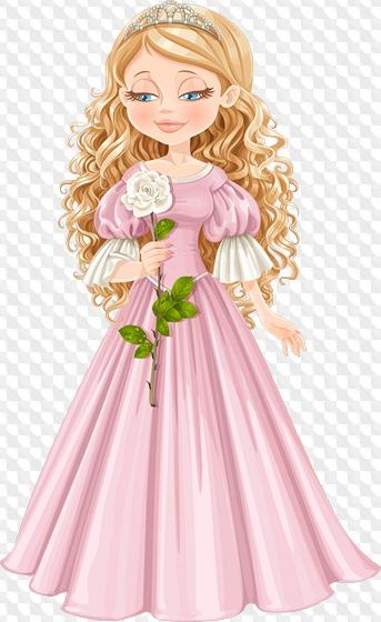 Little png download free. Princess clipart transparent background