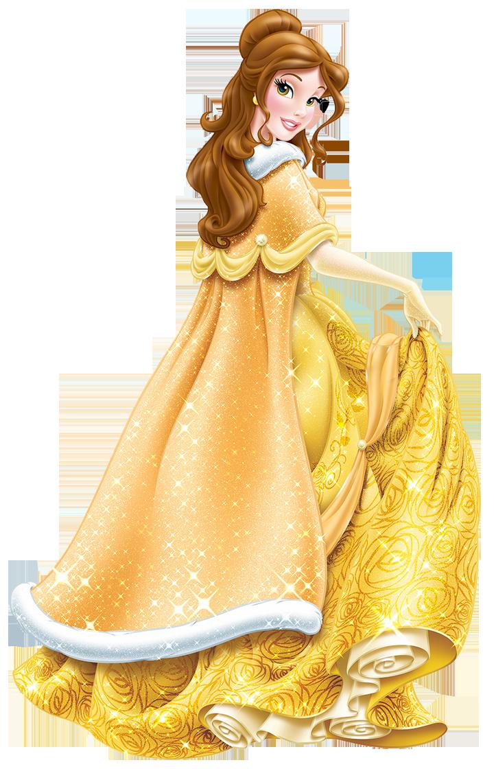 Walt disney belle juanita. Princess clipart winter